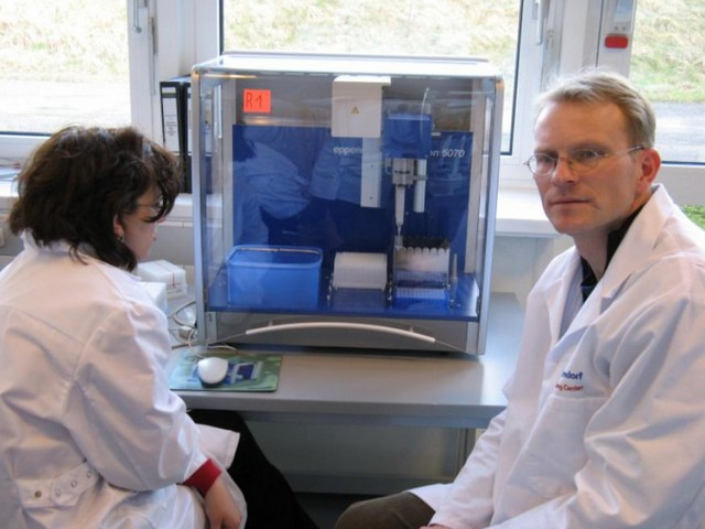 Training Eppendorf, martie 2008, Germania