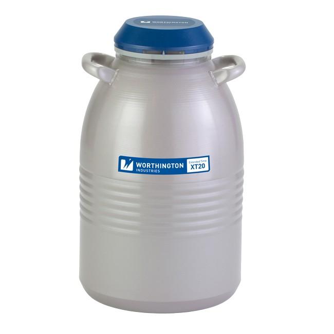 Containere criogenice pentru stocare probe in azot lichid XT20