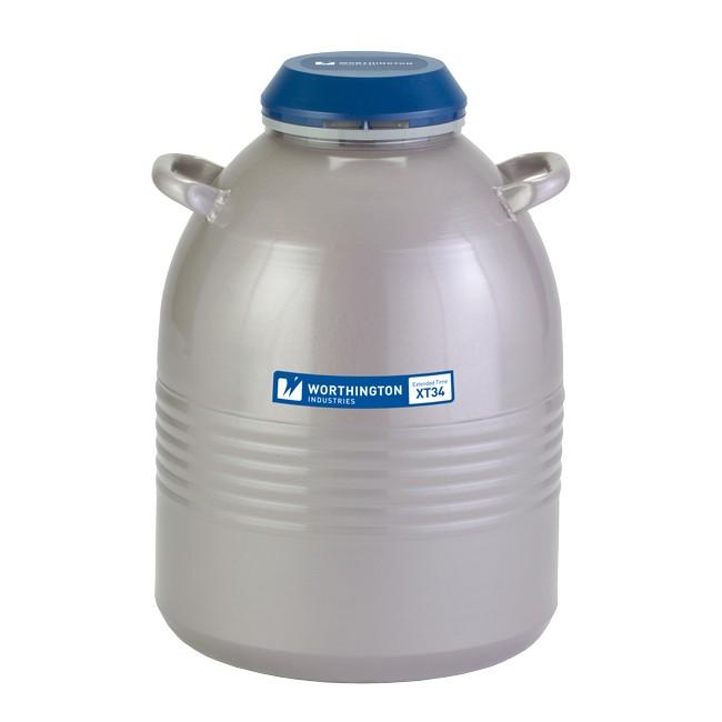 Containere criogenice pentru stocare probe in azot lichid XT34