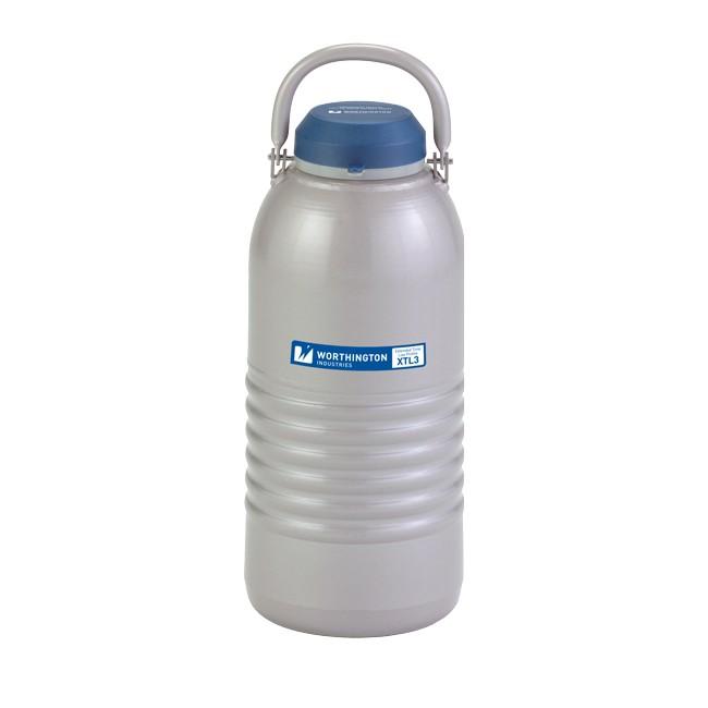 Containere criogenice pentru stocare probe in azot lichid XTL3