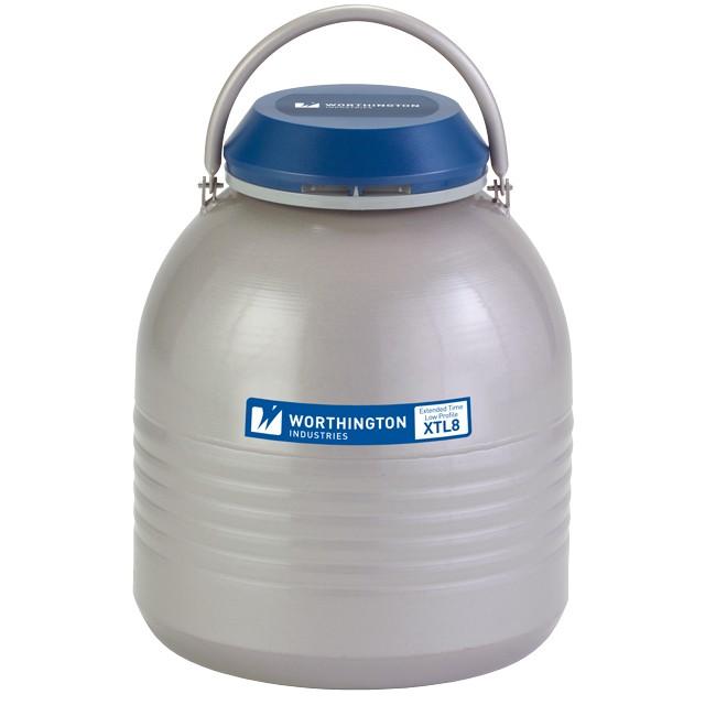 Containere criogenice pentru stocare probe in azot lichid XTL8