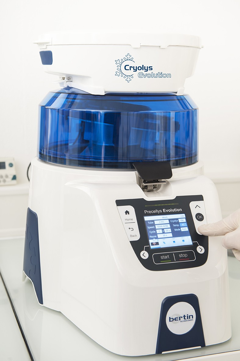 Sistem de racire Cryolys Evolution- pentru omogenizatorul Precellys Evolution
