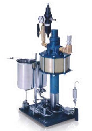 Omogenizator pneumatic pentru procesare volume mari