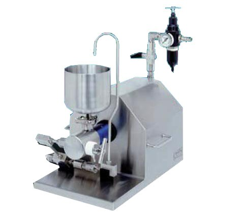 Omogenizator pneumatic la presiune de 8.000 psi