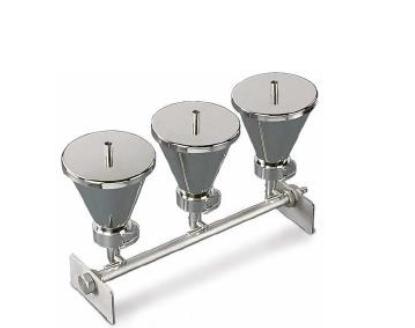 Sistem cu 3 palnii din inox pentru metoda filtrarii prin membrana