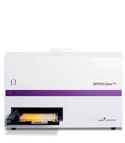Nefelometru cu laser pentru microplaci