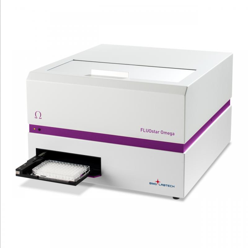 Cititor de microplaci in fluorescenta(FI) si absorbanta(Abs)