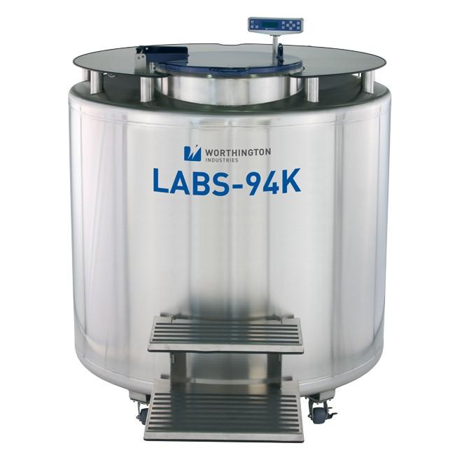 Container 1595 litri stocare probe biologice in azot lichid la -196°C LABS 94K