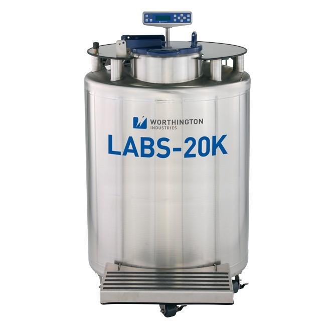 Container 407 litri stocare probe biologice in azot lichid la -196°C Labs 20K