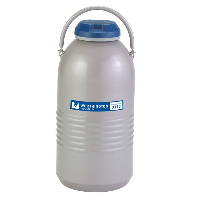 Containere criogenice pentru stocare probe in azot lichid XT10