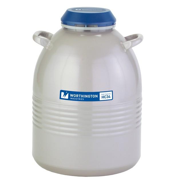 Containere criogenice stocare probe in azot lichid HC 34