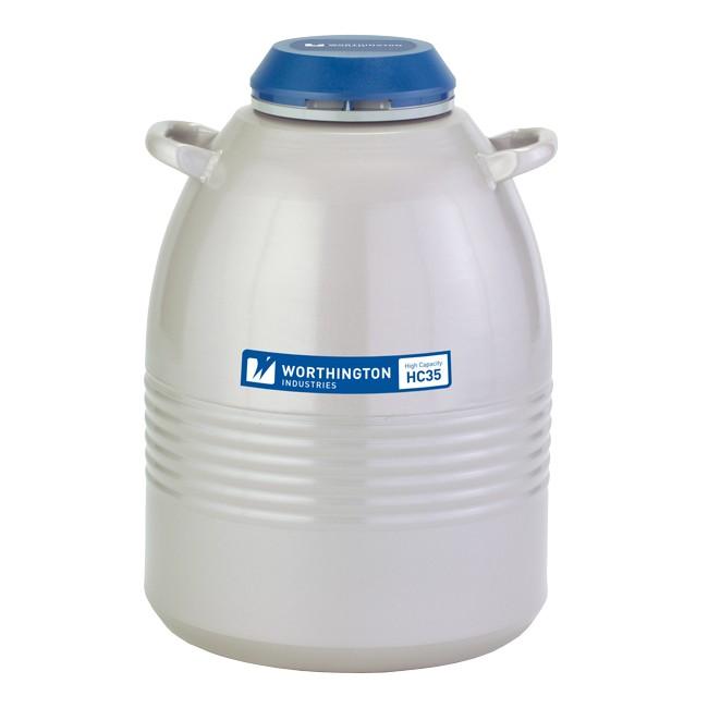 Containere criogenice stocare probe in azot lichid HC 35