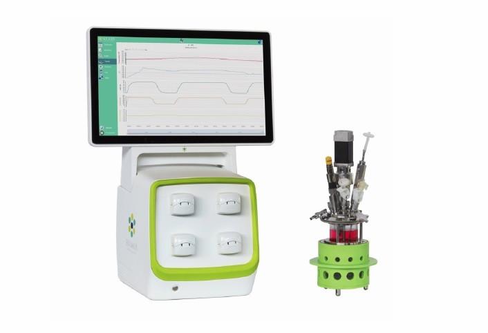 Fermentor / Bioreactor Paralel autoclavabil 1000ml (mini)