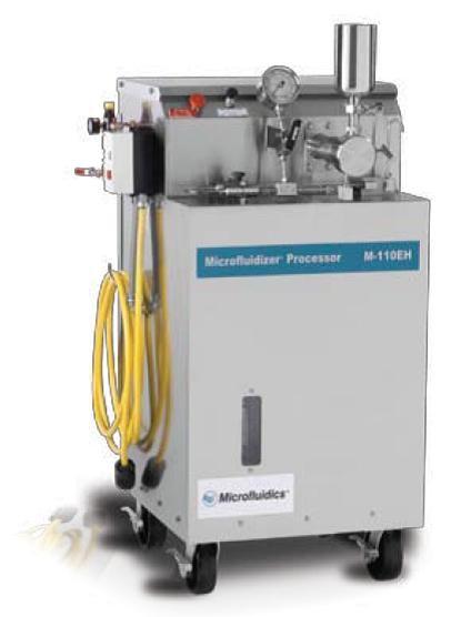 Omogenizator la presiuni inalte M-110EH-30