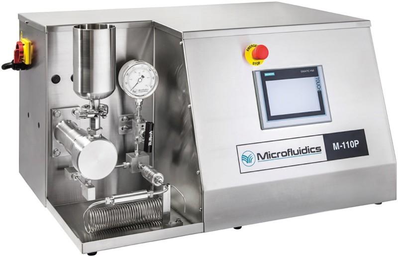 Omogenizator electrohidraulic  pentru procesare continua probe volume mari