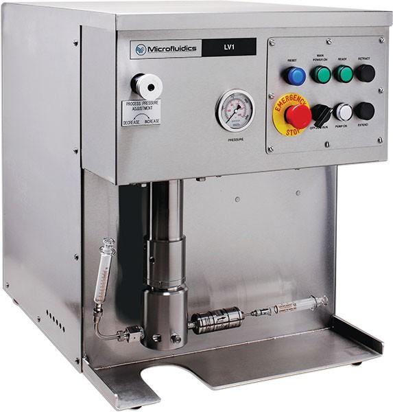 Omogenizator electrohidraulic pentru procesare volume extrem de mici de proba (1 ml)