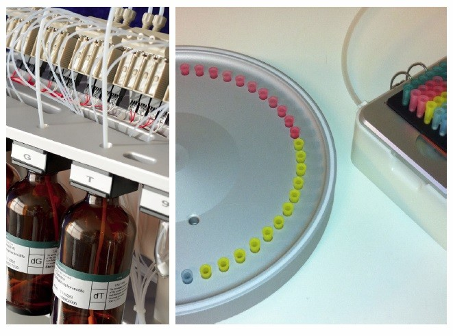 Sintetizator acizi nucleici OligoMaker 48