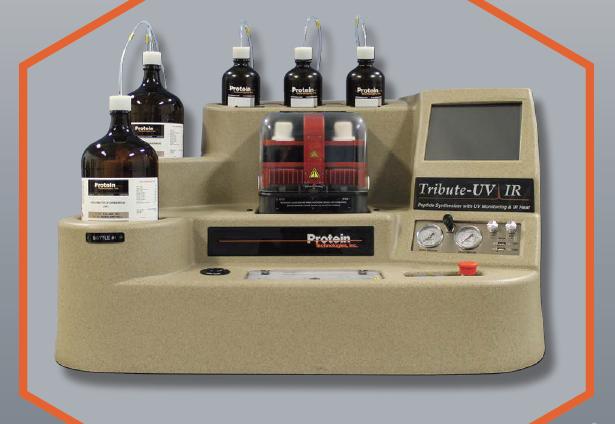 Sintetizator peptide Tribute UV IR