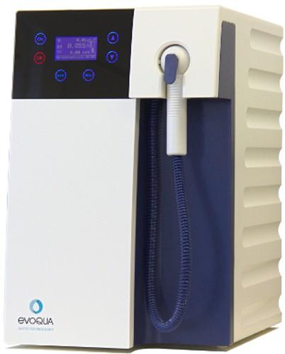 Sistem producere apa ultrapura cu panou de control de sticla, alimentarea direct de la retea