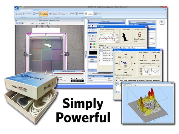 Soft monitorizare video animale (video tracking software)