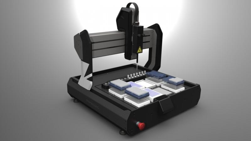 Statie automata de pipetare PCR/qPCR set-up