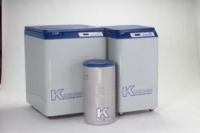 Tanc 365 Litri stocare probe biologice in azot lichid la -196°C 24K