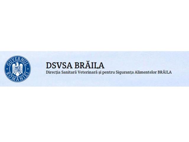 DIRECTIA SANITAR VETERINARA SI PENTRU SIGURANTA ALIMENTELOR BRAILA