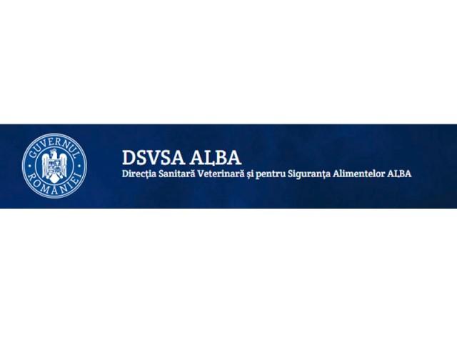 DIRECTIA SANITAR VETERINARA SI PENTRU SIGURANTA ALIMENTELOR ALBA