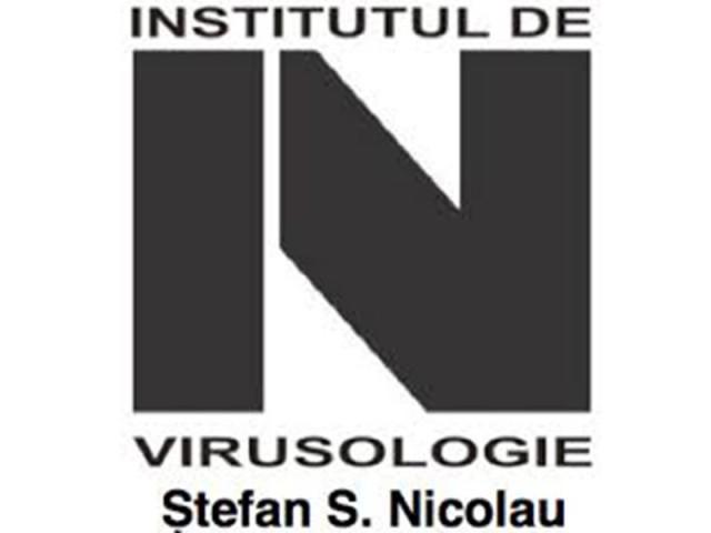 INSTITUTUL DE VIRUSOLOGIE STEFAN NICOLAU BUCURESTI