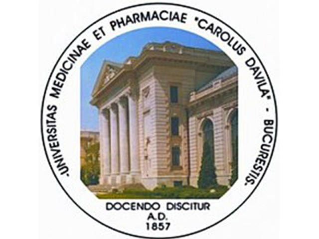 "UNIVERSITATEA DE MEDICINA SI FARMACIE ""CAROL DAVILA"" BUCURESTI"